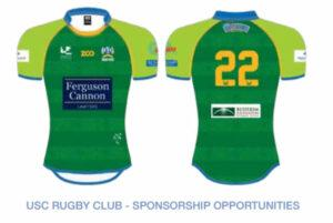 Rugby sponsorship Sunshine Coast associate Jersey Image