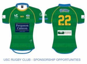 Rugby sponsorship Sunshine Coast Foundation Jersey Image